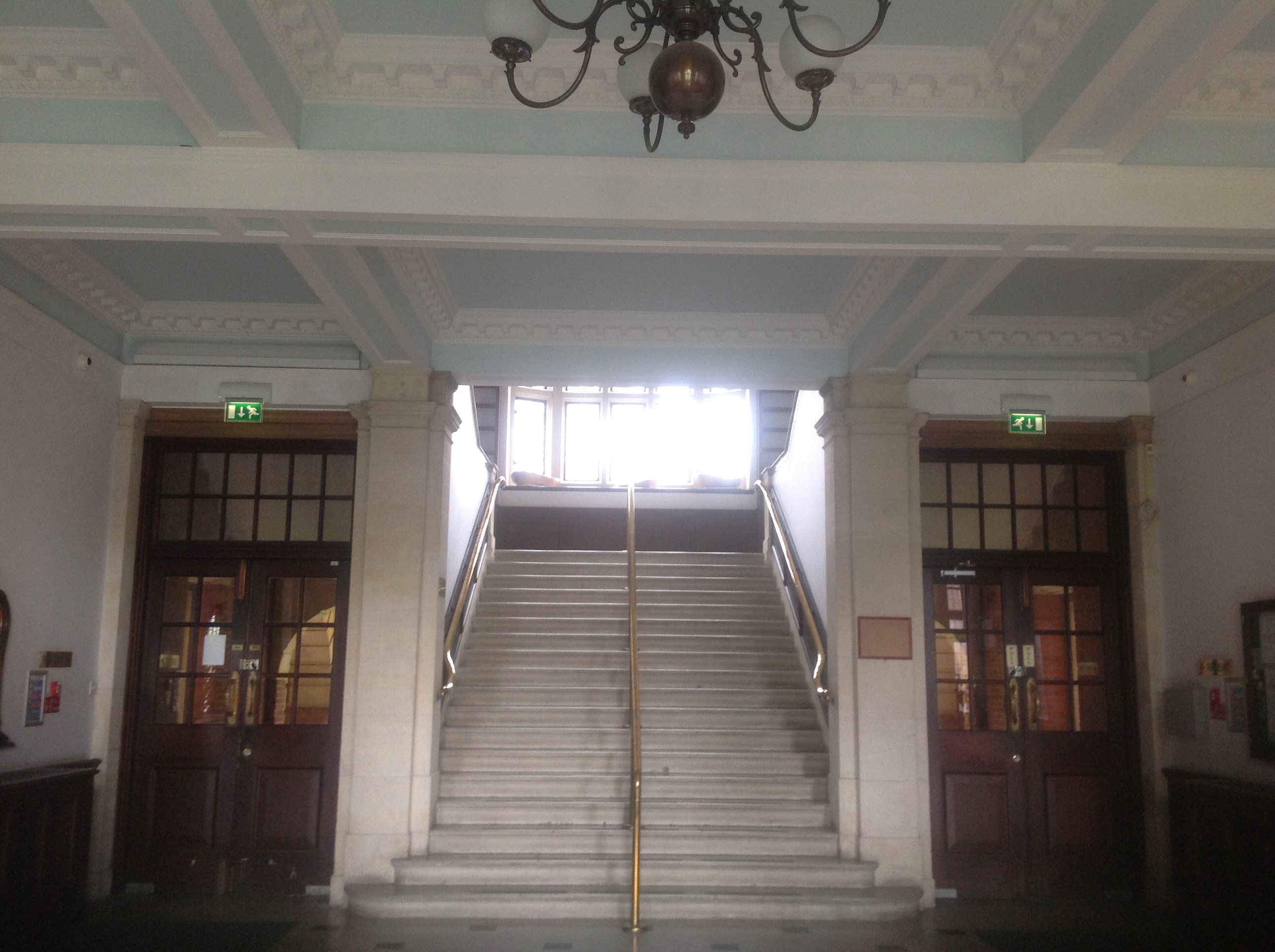 Entrance hall Old Library 2015